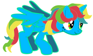 My first vector of, The Google Chrome Pony by Flutterflyraptor