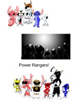 Go Go Power Rangers by Trey-Vore
