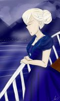[APH] A cold night on the fjord by FairyTailForever123