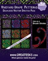 Grape Patterns and Brushes by namespace