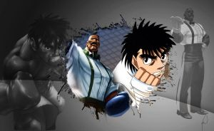 Dudley and Ippo by Dark-Rizzi