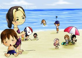 Harvest moon- The Beach Shore by kichiko-san