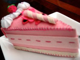 sweet strawberry cake. by prouda-prada