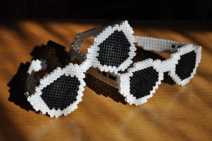 Beads - Sunglasses by Oggey-Boggey-Man