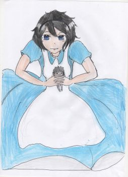 REQUEST - Rukia in Wonderland by AyumiTheSmilingFox