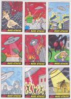 More Mars Attacks Cards by phymns