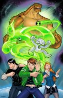 Ben 10: Alien Force by RIVOLUTION