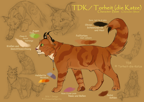 TDK Character Sheet by ElementalSpirits