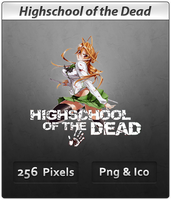 Highschool of the Dead - Icon by DevilL-Dante