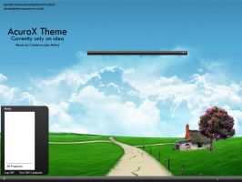 AcuroX Theme Preview by CalabriA