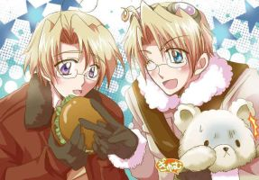 APH Canada and America 3 by Hetalia92