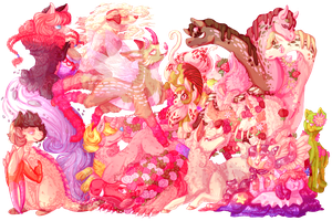CE: Pink Overload! by KindieRoops
