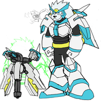 Metalion Reploid - Meta Leo by DynamiteManEXE