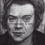 Harry Styles drawing by Chicoandpaco1