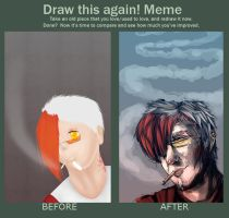Before After meme: Bliss by kittygurl521