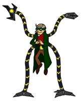 Doctor Octopus by Moheart7