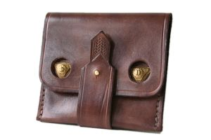 Steampunk Leather Wallet 3 by AmbassadorMann
