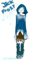 semi-goth Jack Frost by HezuNeutral