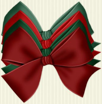 Christmas Bows by PhotoImpactPixels