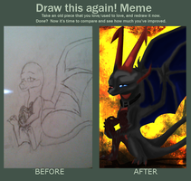 befor and after meme by Skrenva