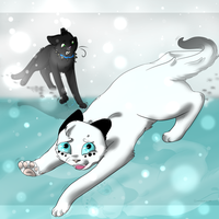 .:Icy and Suspicious:. :COLLAB: by catpain