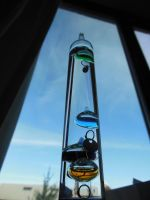 Galileo Thermometer - Day 48 by ninjakitty94