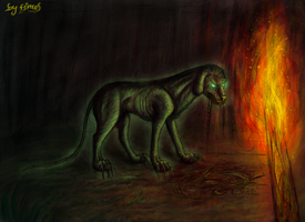The Hound of the Baskervilles by firael666