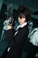 Kougami Shinya // Psycho Pass by Laitz