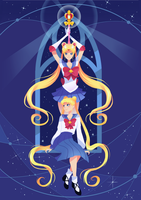 Sailor Moon by slieni