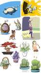 Pokemon, Plants and Misc by Lubrian