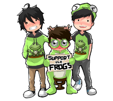 Support The Frogs by YakitatePan