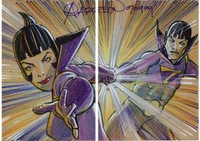 Wonder Twins by artstudio