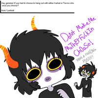 Ask from *Lanbutt by askGAMZEE-MAKARA-ask