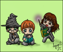 Harry Potter Gang by Ai-hime