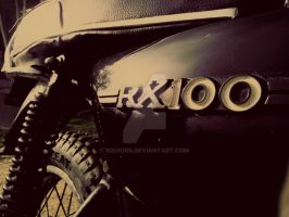 Rx 100 : a 25 year young  timeless machine by kishorr