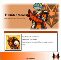 Haunted woods S1 2012 (journal skin) by DepaX3x