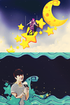 Anniversary #3 Stars and Moon by Jungyedolly