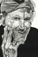 keith richards by cssp