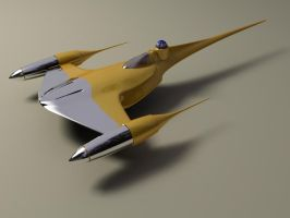 Naboo Starfighter by phantomx2