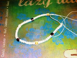 Summer Days Hemp Choker by beadsofcompassion