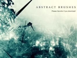 ABSTRACT BRUSHES PHOTOSHOP by brushpsd