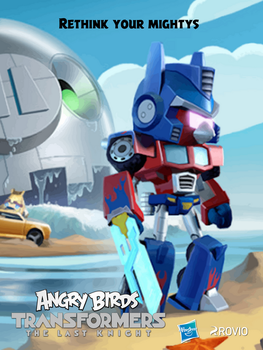 Angry Birds Transformers: The Last Knight Poster 2 by Alex-Bird