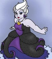 Ursula the Sea Witch by MuseWhimsy