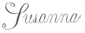 Copperplate practice (For Susie) by MasonAndAGhast