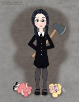 Wednesday Addams by StudioBueno