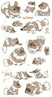 Zigzagoon Re-design by PichiiCake