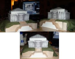 Bizenghast Library Model by sadwonderland