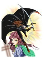 Vampire Hunter D by RedShoulder