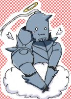 Alphonse Elric Angel by babydoog2