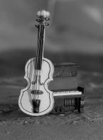 Violin with Piano by sulclip